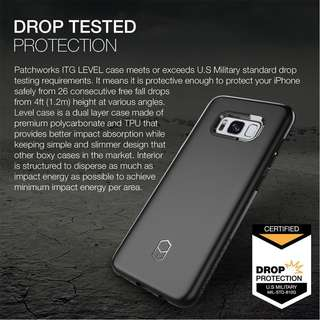 Patchworks Level Case for Galaxy S8 - Black 2nd