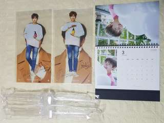 Kang Daniel Think Nature Calendar & Mini Banner