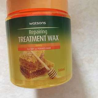 Repairing treatment wax