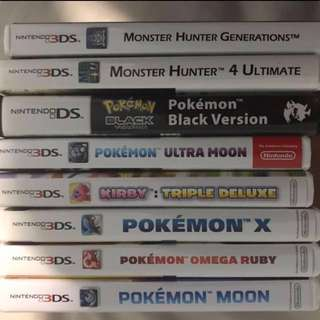 3DS XL Games