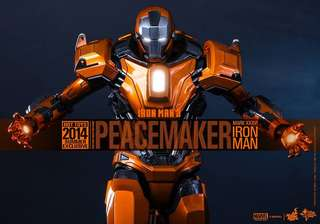 Hot Toys Iron Man Peacemaker Mark 36 BIB