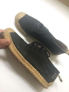 TAKAHAYASHI suede sneakers