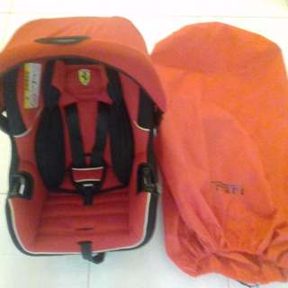 Scuderia Ferrari Carseat/carrier and Baby Carrier
