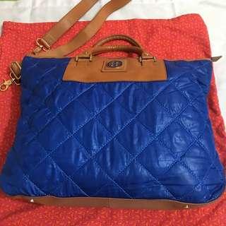 Authentic Tory Burch two way handbag super slightly used