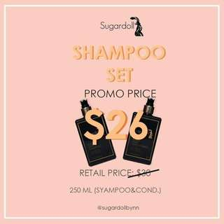 READY STOCK💕SUGARDOLL SHAMPOO SET PROMOTION WHILE STOCKS LAST.  Processing proceed upon full payment received via bank transfer