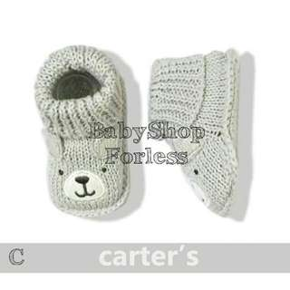 Knitted Baby Socks - C