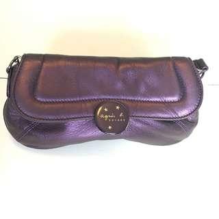 Agnes B crossbody bag or clutch bag