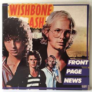 Wishbone Ash ‎– Front Page News (1977 USA Original in Gatefold Sleeve - Vinyl is Mint)