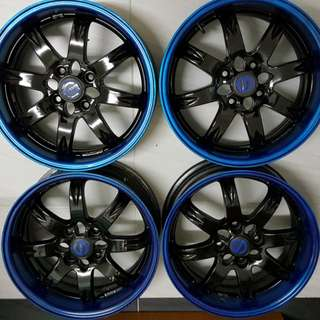 "Racing Sparco Crimson Inc 15"" Japan"
