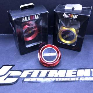 Ralliart engine oil cap UNIVERSAL for Mitsubishi CS3 Mitsubishi Lancer Mitsubishi EVO lancer EX