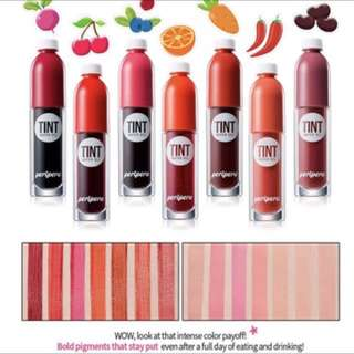 Peripera Colorfit Lip Tint water gel PO