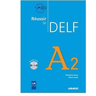 DELF A2 FRENCH BOOK