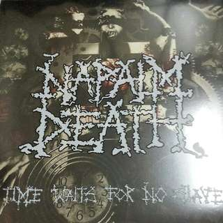Napalm Death ‎– Time Waits For No Slave LP Picture Disc Vinyl Record - Grindcore, Death Metal