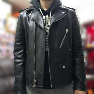Coach Leather Biker Jacket 真皮皮褸