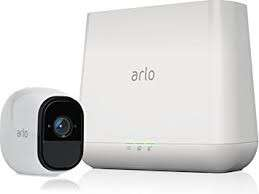 Netgear Arlo pro wireless camera with base station