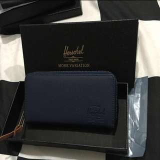 Herschel long wallet (blue)