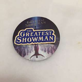 Pin Badge The Greatest Showman