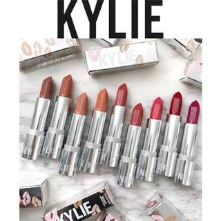 Kylie Silver Bullet Lipstick Series