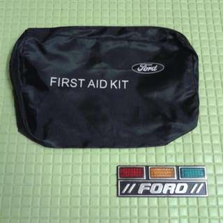 FORD First AidKit & Emblem Traffic