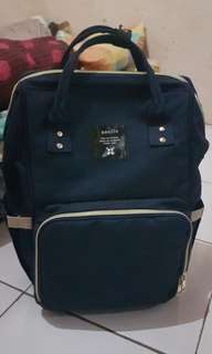 DIAPER BAG ANELLO WARNA NAVY
