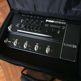 Guitar Effects, line 6 pod hd300
