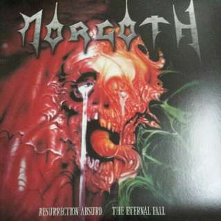Morgoth ‎– Resurrection Absurd / Eternal Fall LP / Vinyl Record - Death Metal, 2010 Pressing