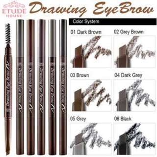 Etude House Drawing Eyebrow - Dark Grey