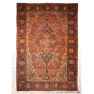 SAMEYEH LOT NO 16263 MOHAJERAN FEROM CENTRAL PERSIA 371 X 257 CM