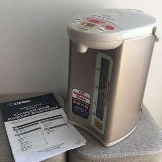 日本 Zojirushi 象印 4L Electric Dispenser Kettle 微電腦電熱水煲