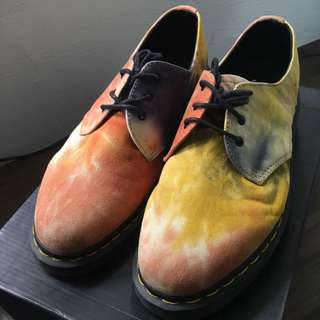 Dr Marten Monkey Boots (color dye design)