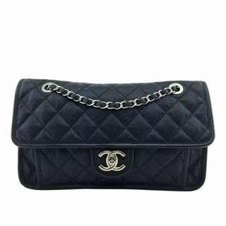 Chanel 牛皮荔枝皮手袋