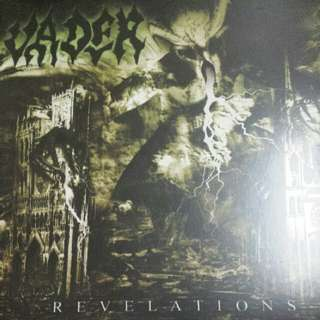 Vader ‎– Revelations LP / Vinyl Record, Red Vinyl - Death Metal