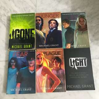 Michael Grant - Gone - complete series of 6 books