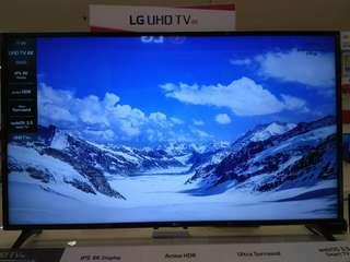 "LG 55""UHD 4K Smart TV+Magic Remote.Cicilan Mudah tanpa kartu kredit proses 3 menit"
