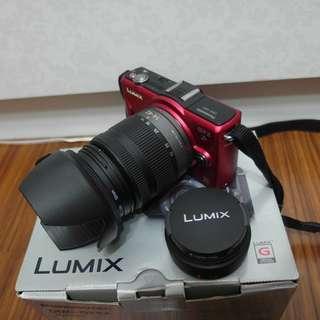 【出售】Panasonic GF2 微單眼相機 雙鏡組 9成新