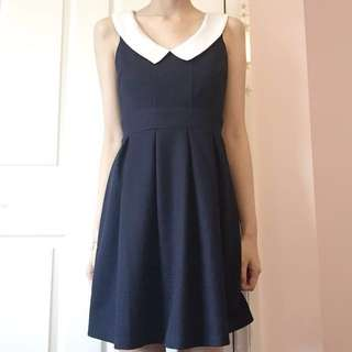 BNWT Navy/white dress