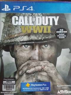 Call of Duty ww2 bnew sealed