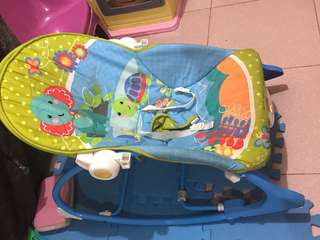 Fisher price 2 in 1 toddler rocker