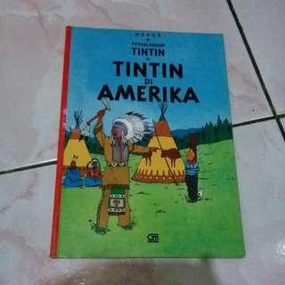Komik Tintin 'Tintin di Amerika