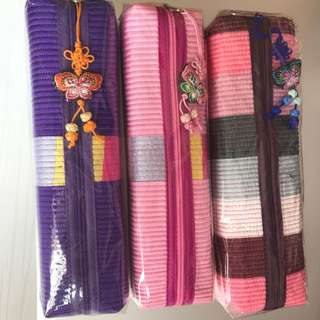 Korean traditional cloth style Pencil/ stationery Case