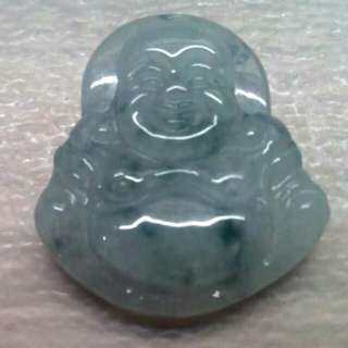 🌟T1 - Grade A GENUINE Jade Laughing Buddha Pendant From Myanmar🌟
