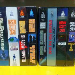 Ender's Game Quartet Ender's Shadow Series Orson Scott Card