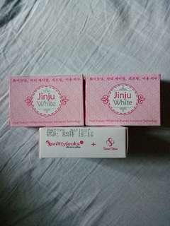 Jinju White Soap.Buy1 take 1