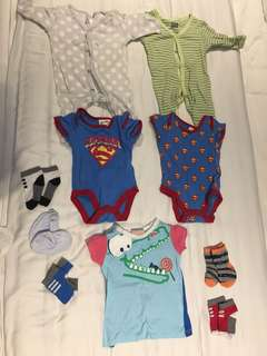Baby Clothes 0 to 3 mo old