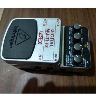 Guitar Effects (Behringer)