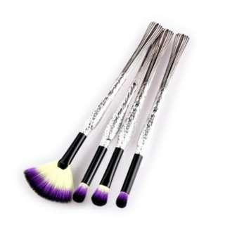 [PO170]2018 new 4pcs black tube rich bird makeup brush eyeliner brush