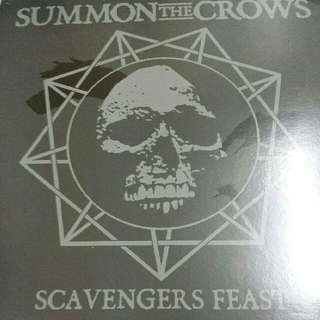 Summon The Crows ‎–Scavengers Feast LP / Vinyl Record - Hardcore, Punk, Death Metal
