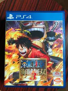 One piece pirate warrior 3 ps4, japanese