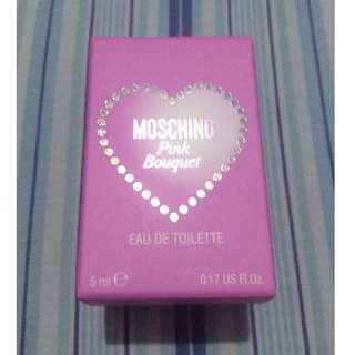 Authentic Moschino Miniature Perfume