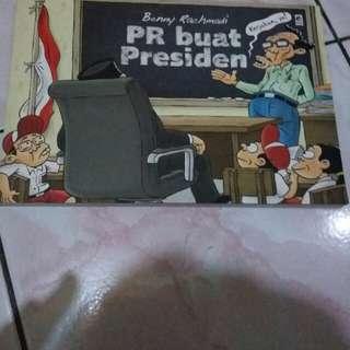 Komik 'PR buat Presiden' Benny Rachmadi